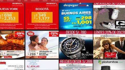 Mira qué descuentos te ofrece el Cyber Monday Perú 2015