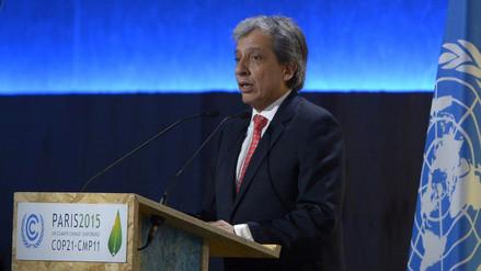 Pulgar Vidal inaugura la conferencia del clima de París