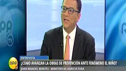 """Juan Manuel Benites: """"El Niño está presente, El Niño está"""""""