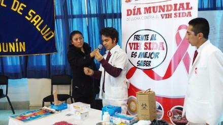 Huancayo: más de 120 personas fueron detectadas con VIH/Sida