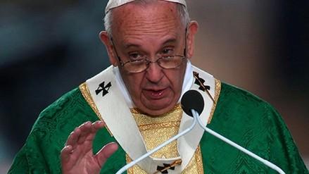 Papa: El mundo está al borde de un suicidio a causa del cambio climático