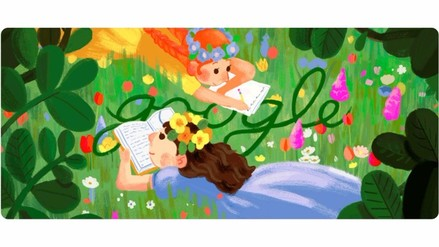 Google le rinde homenaje a Lucy Maud Montgomery