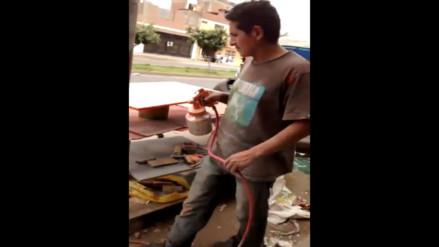 SMP: taller de pintura genera contaminación