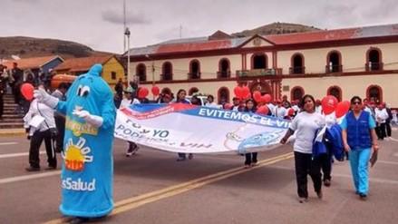 Se realizó marcha por el día mundial de lucha contra el Sida