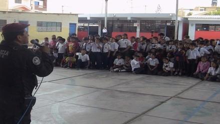 Más de 18 mil escolares recibieron charlas por el uso indebido de pirotécnicos