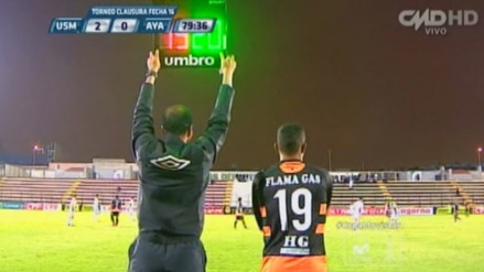 YouTube: árbitro del San Martín-Ayacucho falló en el tiempo de 3 cambios