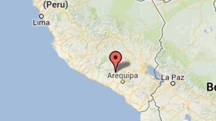 Un sismo de 4 grados se registró en Arequipa