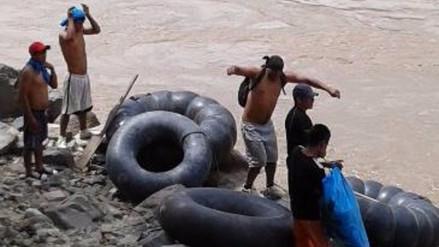 Pataz: continúa la búsqueda de menores arrastrados por el río Marañón