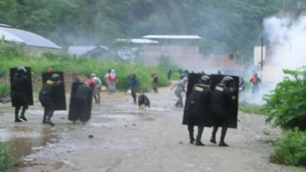 Chanchamayo: Enfrentamiento con invasores deja heridos y vehículos quemados