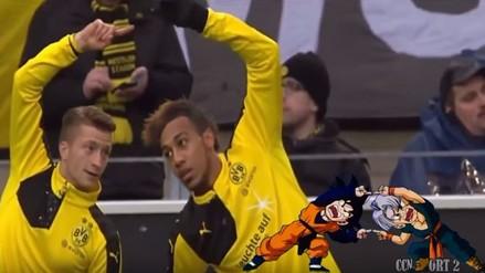 Youtube: jugadores de Borussia Dortmund imitaron a Goten y Trunks de Dragon Ball Z
