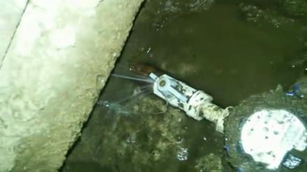 Reportan fuga de agua en VMT