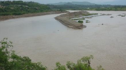 Rio Utcubamba aumenta su caudal tras fuertes lluvias