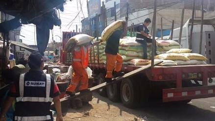 Trujillo: SUNAT incauta arroz valorizado en más de 300 mil soles