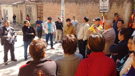 Vecinos del Jirón José Gálvez exigen nueva pista