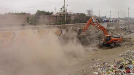 Se inician trabajos de rehabilitación del muro de contención