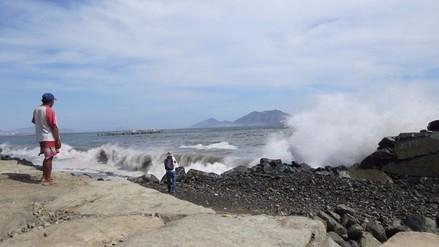 Oleajes irregulares se registrarán en litoral peruano a partir del viernes