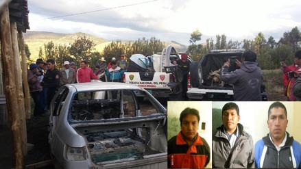 Policía recuperó auto completamente desmantelado