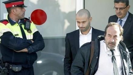 Barcelona: Javier Mascherano salvó de ir un año a la cárcel por fraude