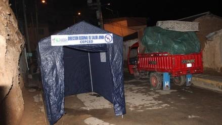 Lluvias y relámpagos dejan cinco familias damnificadas en Tarma