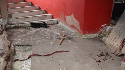 Desconocidos causaron destrozos en museo de sitio en Limpacpampa