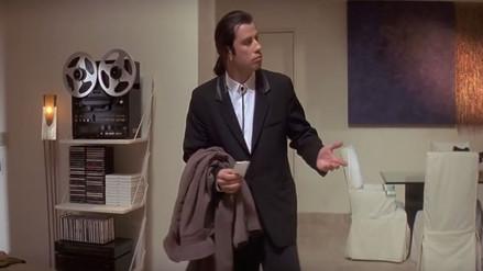Youtube: ¿de qué escena de Pulp Fiction salió el gif de John Travolta?