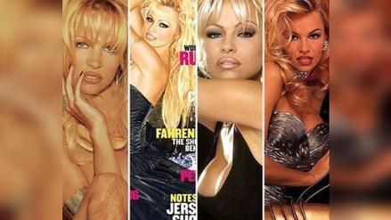 Pamela Anderson será la última en desnudarse para Playboy