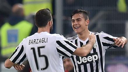 YouTube: Juventus venció 2-0 a Lazio con un golazo de Paulo Dybala