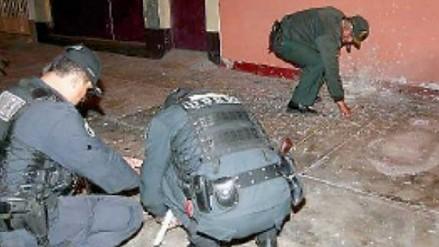 Huaral: extorsionadores detonan explosivo en casa de comerciante mayorista