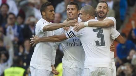 Real Madrid goleó 4-1 al Getafe con gran actuación de la 'BBC'