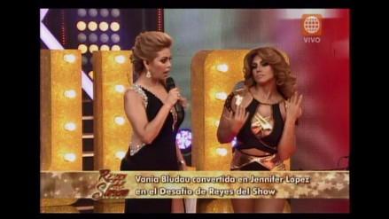 Reyes del Show: Vania Bludau se transformó en Jennifer López