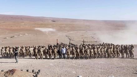 Las Fuerzas Armadas peruanas hicieron ejercicio militar en Tacna (FOTOS)