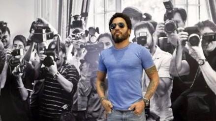 Lenny Kravitz exhibe muestra fotográfica inspirado en los paparazzis