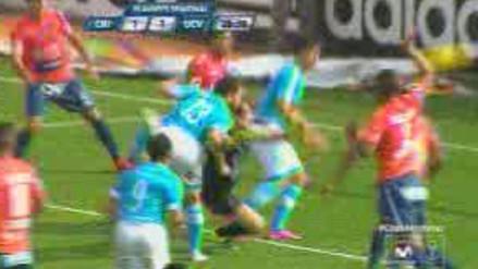 Sporting Cristal vs. César Vallejo: ¿Libman tuvo responsabilidad en el empate? (VIDEO)