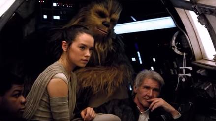 Star Wars: revelan video con imágenes detrás de cámaras