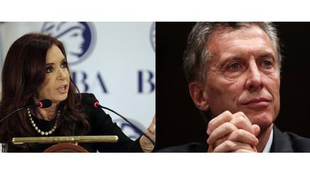 Argentina: CFK dice que Macri la maltrató en discusión por cambio de mando