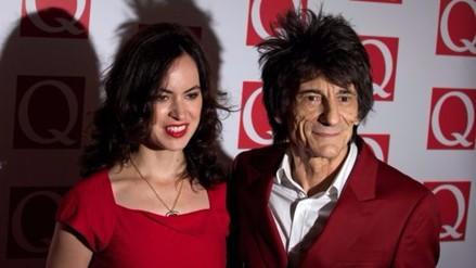 Rolling Stones: Ronnie Wood será padre de gemelos a los 68 años