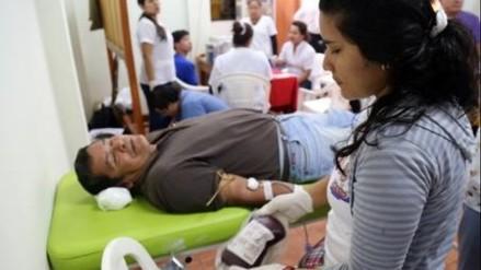 Trujillo: promueven campaña de donación de sangre