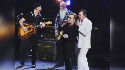 Eagles of Death Metal y U2 cantaron juntos en Paris tras atentados