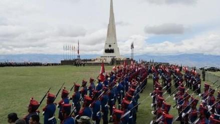 Realizan actividades por el 191 aniversario de la batalla de Ayacucho