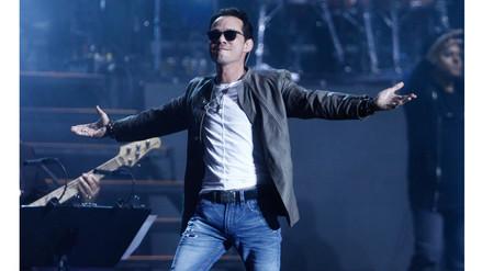 Marc Anthony y Romeo Santos hicieron bailar a Lima