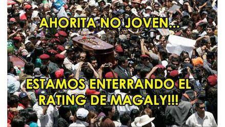 Magaly Medina no se salvó de los memes por bajo rating