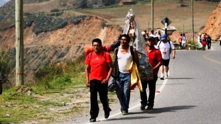 Otuzco: seis carpas atenderán a peregrinos de Virgen de la Puerta