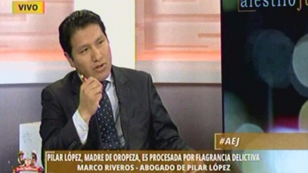 Riveros: Si hay pruebas de que Pilar López quería ingresar, que se le condene
