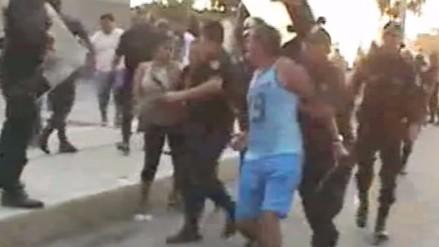 Copa Perú: Sporting Cristal - Cantolao terminó con disturbios en Tumbes (VIDEO)