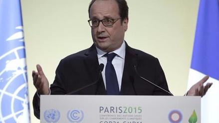 Hollande reconoce resistencias al acuerdo sobre clima en cumbre de París