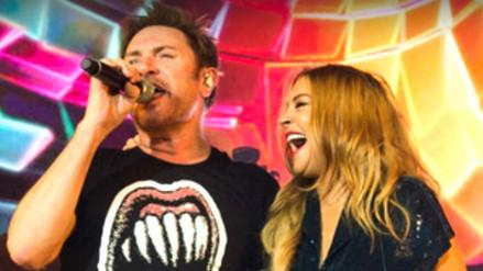 Lindsay Lohan volvió a los escenarios
