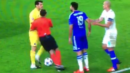 Champions League: Iker Casillas y Diego Costa casi se van a las manos (VIDEO)