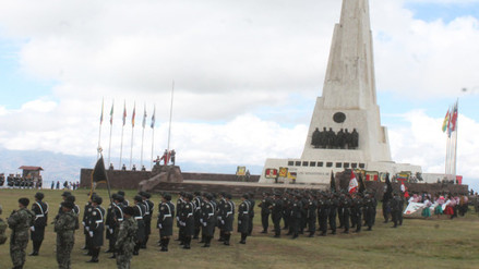 Celebran el 191 aniversario de la Batalla de Ayacucho