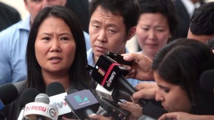 Perú Posible: Keiko Fujimori debería ir por propia voluntad a Fiscalización