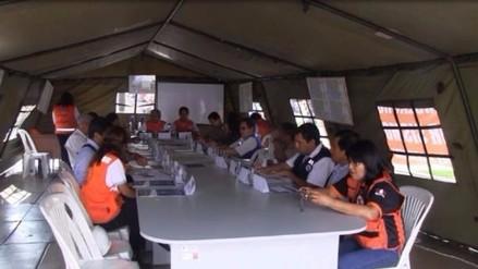 El Niño: evaluarán capacidad de respuesta de familias de sector Río Seco